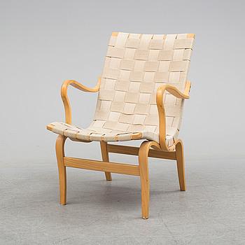 BRUNO MATHSSON, A 'Eva' easy chair by Bruno Mathsson for Dux.