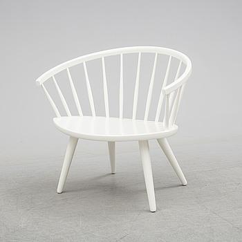 "YNGVE EKSTRÖM, An ""Arka"" chair, designed by Yngve Ekström, second half of the 20th century."