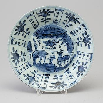 FAT, porslin. Mingdynastin, Wanli (1572-1620).