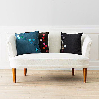 "Kuddar 3 st ""Dot Pillows"" Hella Jongerius för Vitra."