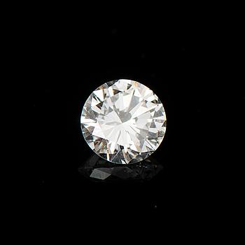 A DIAMOND, brilliant cut,  TW (F-G) / VS2 1,02 ct.