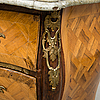 A chest of drawers by lars nordin (furniture maker ini stockholm 1743-1773), rococo.