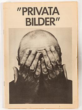 CHRISTER STRÖMHOLM, utställningskatalog utgiven av Camera Obscura 1978, upplaga 2000 ex.