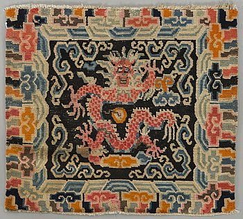 MEDITATIONSMATTA, Tibet semiantik ca 71 x 79 cm.