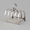 Toastrack, silver, robert fred mosley, sheffield, 1947