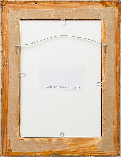 Lars lerin, photo, c-print, signed and dated 2010.