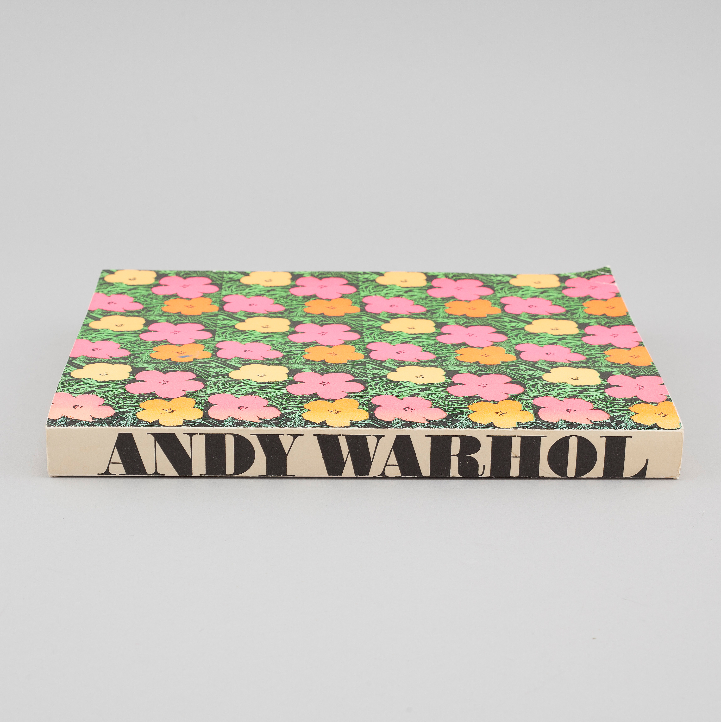 A Catalouge From And Exhibition About Andy Warhol At The