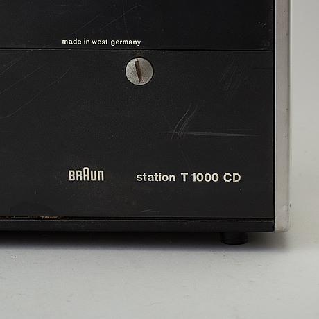 "Diet rams, radio, ""weltempfänger   t1000"", formgiven 1963"