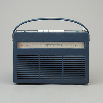 "DIETER RAMS, radio ""T220"" , Braun, designed in 1960-61."