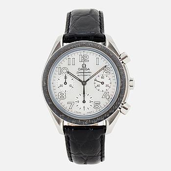 "OMEGA, Speedmaster, Reduced, ""Tachymètre Base 1000"", kronograf, armbandsur, 39 mm."