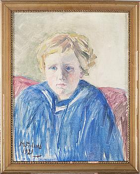 MARCELIUS FÖRLAND, olja på duk, signerad och daterad 1921.