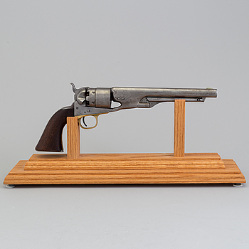 SLAGLÅSREVOLVER, Colt 1860 Army, no 90473.
