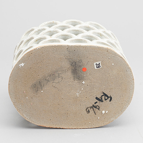 Signe persson-melin, gallerskål, stengods, signerad och daterad -96.