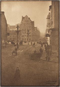 HENRY B. GOODWIN, fotogravyr ur boken Vårt vackra Stockholm signerad i negativet.