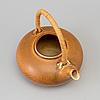Berndt friberg, a stoneware teapot from gustavsberg studio