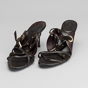 GUCCI, skor, enligt märkning storlek 39,