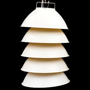 """AXEL SCHMID, taklampa, """"Five pack"""", för Ingo Maurer, formgiven 2007."""