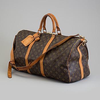 "BAG, ""Keepall 50 Bandouliere"", Louis Vuitton."