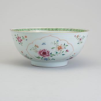 SKÅL, kompaniporslin. Qingdynastin, Qianlong (1736-95).
