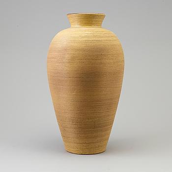 ANNA-LISA THOMSON, A 1940's/1950's earthenware vase by Anna-Lisa Thomson, Upsala Ekeby.