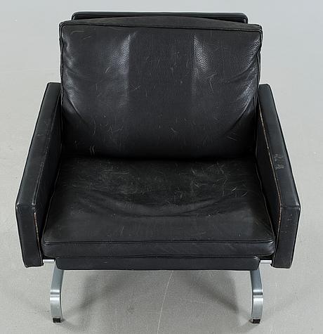 """A """"pk31"""" chair, designed by poul kjaerholm, fritz hansen, 1983"""