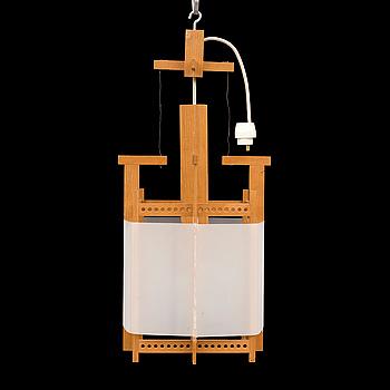 JOHAN KANDELL, A ceiling lamp by John Kandell, for David Sjölinder, designed in 1958.