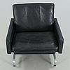 """A """"pk31"""" chair, designed by poul kjaerholm, fritz hansen, 1983."""