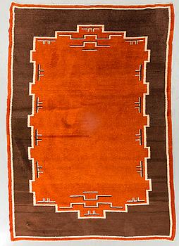 MATTA flossa art deco 1930-tal ca 224 x 155 cm.