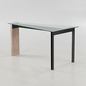 "A table by Jonas Bohlin for Källemo in Värnamo, model ""Concrete"", late 20th century."