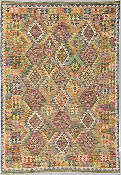 KELIM, orientalisk, ca 293 x 203 cm.