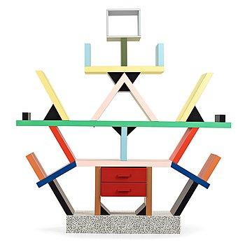 "7. Ettore Sottsass, bokhylla ""Carlton"", Memphis, Italien 1980-tal."