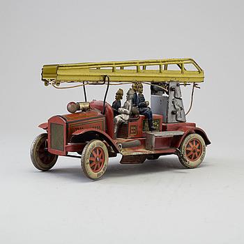 TIPP & CO, leksaksbil, brandbil, Tyskland, omkring 1930.