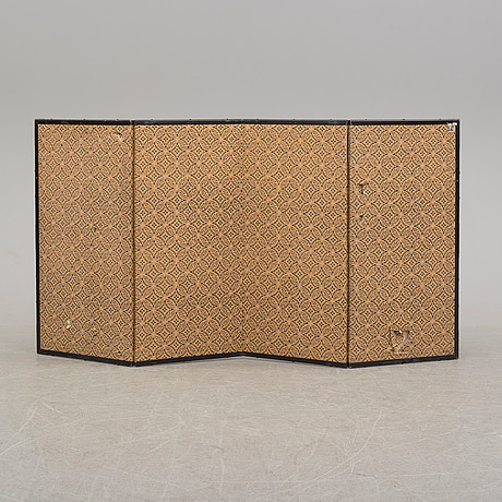 A second half of the 20th century japanesse folding screen