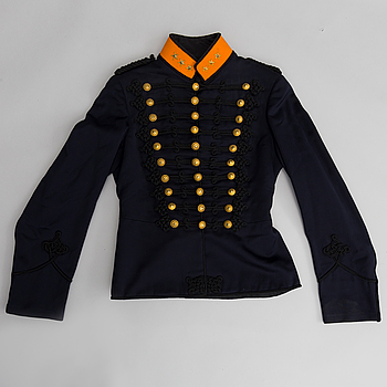 A Swedish uniform for an Artillery officer 1873 pattern.