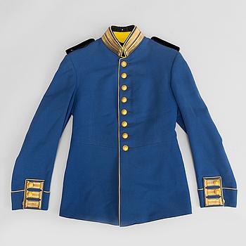 UNIFORM, svensk, m/1888 för officer vid fortifikationen.