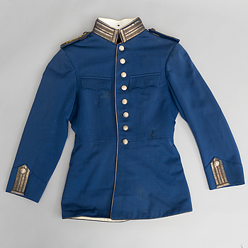 A Swedish cavalry officer's uniform 1895 pattern.