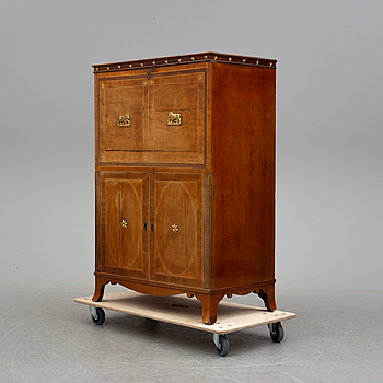 EMPIRE, A northern european empire chiffonier, first half of the 19th century.