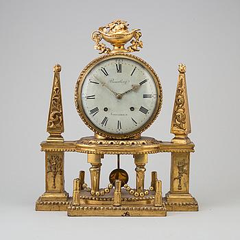 BORDSPENDYL, sengustavianskt stockholmsarbete, omkring år 1800.