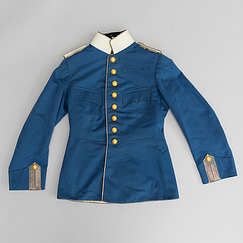 UNIFORM, svensk, m/1895 för officer vid Livregementets dragoner.
