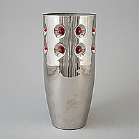 TOBIA SCARPA, vas, metall, för Morellato, Italien.