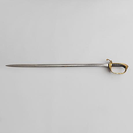 Sabel, svensk, 1800 talets andra hälft