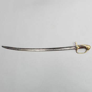 SABEL, dansk, m/1802 för artilleriet.