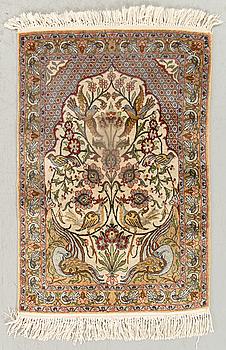 MATTA Teheran/Gohm  silke ca 74 x 52 cm.