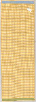A machine woven carpet, designed by Gunilla Lagerhem-Ullberg, 240 x 80 cm.