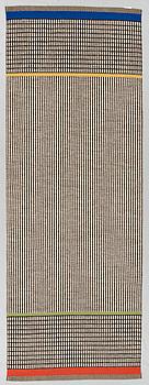 A runner, machine woven, Gunilla Lagerhem Ullberg, Kasthall, 240 x 87 cm.