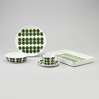 STIG LINDBERG, a 17 pcs porcelain 'Berså' service by Stig Lindberg for Gustavsberg.