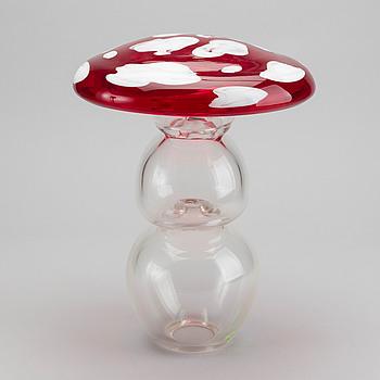 ERNST BILLGREN, skulptur glas signerad numrerad 7/29,