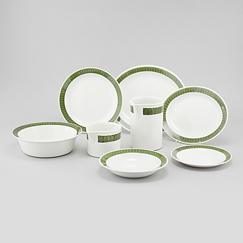 "A mid 20th century ""Droppar"" tableware set of 23 pcs by Berit Ternell for Upsala Ekeby."