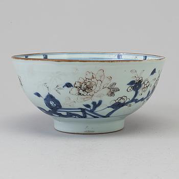 "SKÅL, porslin. Qingdynastin, Qianlong (1736-95). ""Nanking Cargo""."