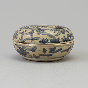 ASK med LOCK, porslin. Mingdynastin, (1368-1644).